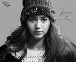Eleanor Calder- DRAWING by AngelNightmare1441