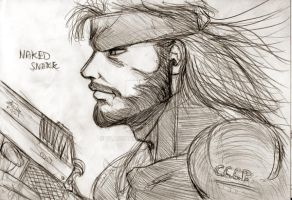 Naked Snake by Vladsnake