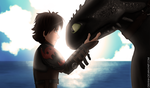 Thanks, buddy. (How to train your dragon) by Dekanh