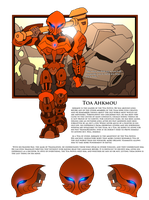 Bionicle- Nova Orbis- Toa Ahkmou bio by NickinAmerica