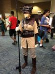 FanExpo2015 - Bounty Hunter Leiah by SableGear
