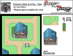 PKMN Black White - Start Town by Newtiteuf