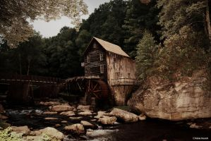 Babcock Grist Mill by kmkessick