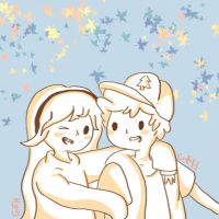The Pines Twins by eas123