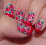 flowers nails 2 by solidadino
