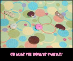 Go Nuts for Donuts Charms by YellerCrakka