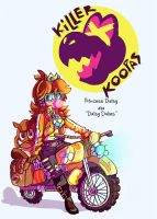 Killer Koopa's: Princess Daisy by CorrsollaRobot