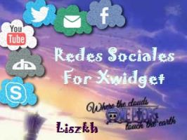 Redes Sociales L xwidget by Liszkh by Liszkh