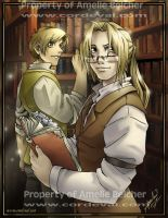 The Elric Brothers by Amelie-ami-chan