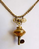 Steampunk Key Pendant by ladysilver2267
