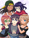 Girls Dormitory -  Cover by Glee-chan