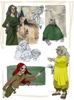 Deathly hallows characters 4 by Sally-Avernier