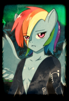 Rainbow Dash by alkalizonian