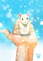 Snow mouse by BlueTwin