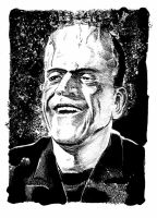 Happy Frankenstein's Monster by DeevElliott