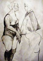 women of Lautrec by leilal