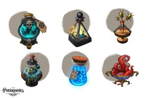 Voracious Games Potionomics Potions 01 by atomhawk