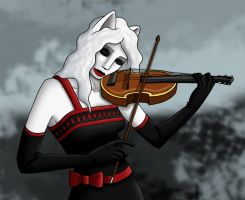 Play the Violin by GlassMouse89