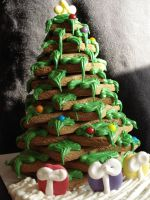 Gingerbread Tree by Maniacmarshmellow