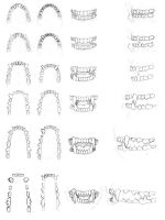 Teeth Studies - 2002 by dirktiede