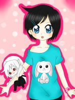 *~Yumi and chibi BEN~* by BEN-Drowned-yshdt