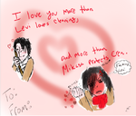 SNK Valentines Day by foreverteen