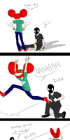 MANLY WRESTLING by lymEpenguin