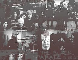 THE BLACK PARADE 10.24.06 III by answerinspades