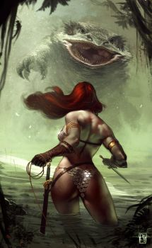 Red Sonja by antoniodeluca