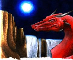 there is hate in the night by Dragon2007