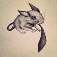 Pichu, the tiny mouse by sassister