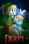 The Legend of Derpy by drawponies