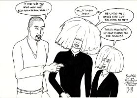 Sia and Mini-Sia 2 (with Kanye West) by FFF66