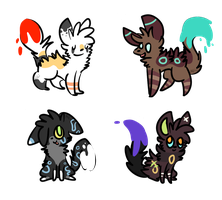 Paint Alfvies adopts by alfvie