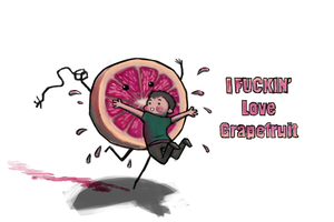 I Fookn' Love Grapefruit by Silvac