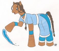 Katara MLP by cqmorrell