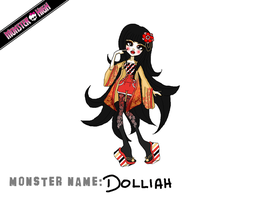 Monster High Contest - Dolly Dolliah by Seiikii