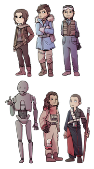Rogue One Transparents by Arkay9