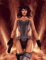 Motoko by thewordlesssignature