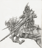 Cavalry Knight by AxisEnigma
