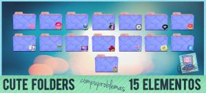 CUTE Folders en Ico y Png by Compuproblemas