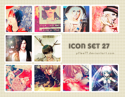 icon set 27 by pflee77