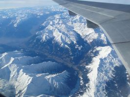 flying over the alps by Flyboy008