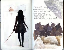 Sketchbook Project 2011- pg 8 by ArmoniaSilenziosa