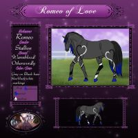 Romeo of Love by ANIMALGIRL1869