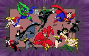 Justice League by RenzoG