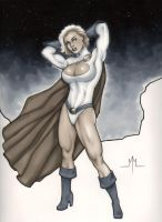 Powergirl by MMcDArt