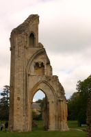 Glastonbury Abbey 7 by FoxStox