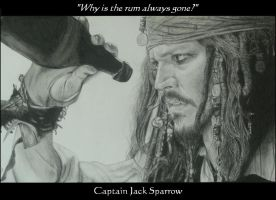 Jack Sparrow and Rum by Monkey-Jack