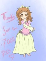 Thanks for 7000 things by AbyLockhart